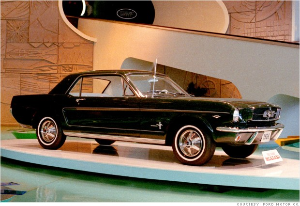 1965 ford mustang worlds fair