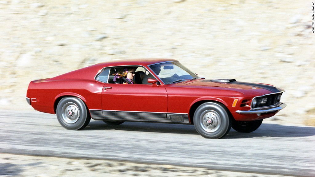 1971 Ford Mustang Mach 1 Fastback SCJ 429/375 HP, Serial No. 28 ...