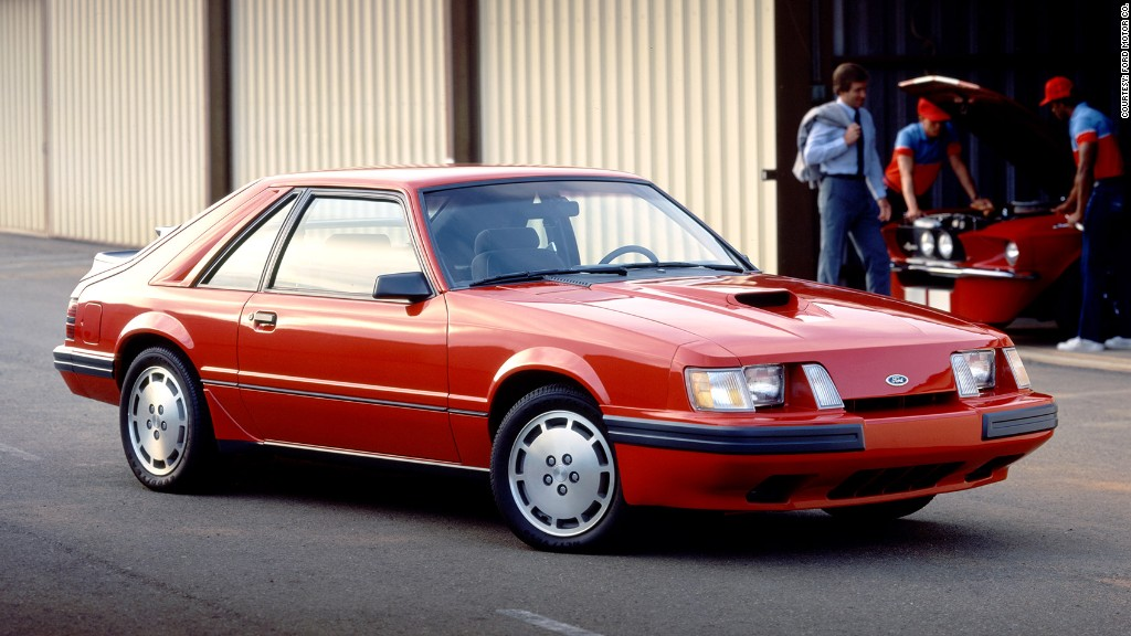 1986 svo 12 most important ford mustangs cnnmoney. Black Bedroom Furniture Sets. Home Design Ideas