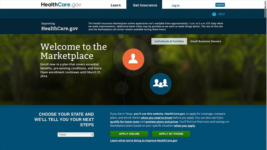 obamacare website 111813