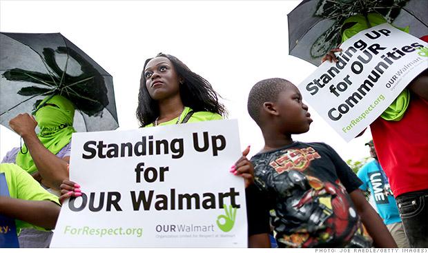 walmart protestors