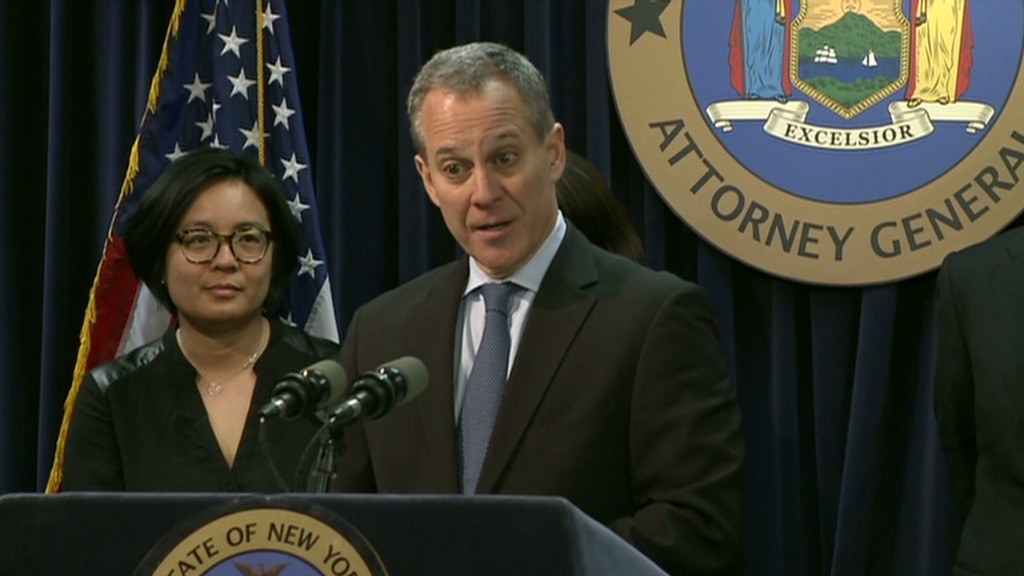 New York AG holds JPM 'accountable'