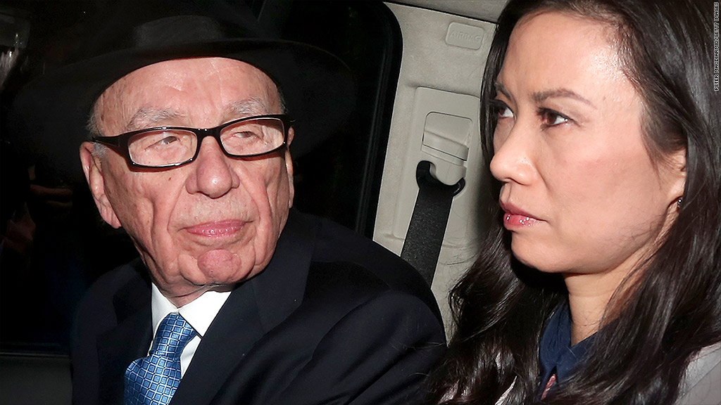 rupert and wendi murdoch divorce