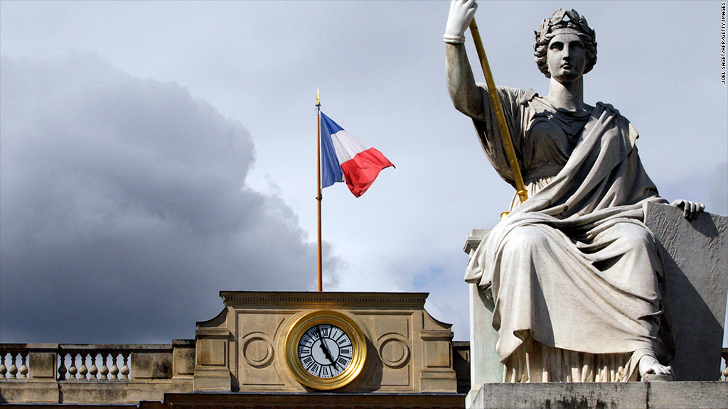french economy weakens