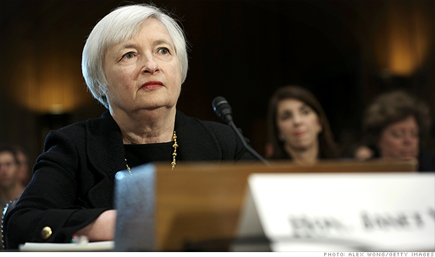 Senate committee approves Yellen nomination