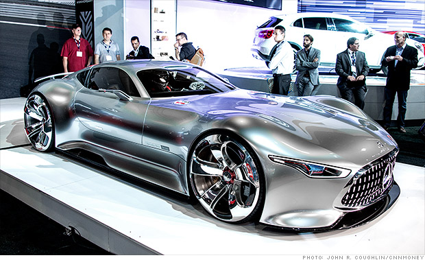 Mercedes benz amg vision gran turismo cool cars from the - Mercedes car show ...