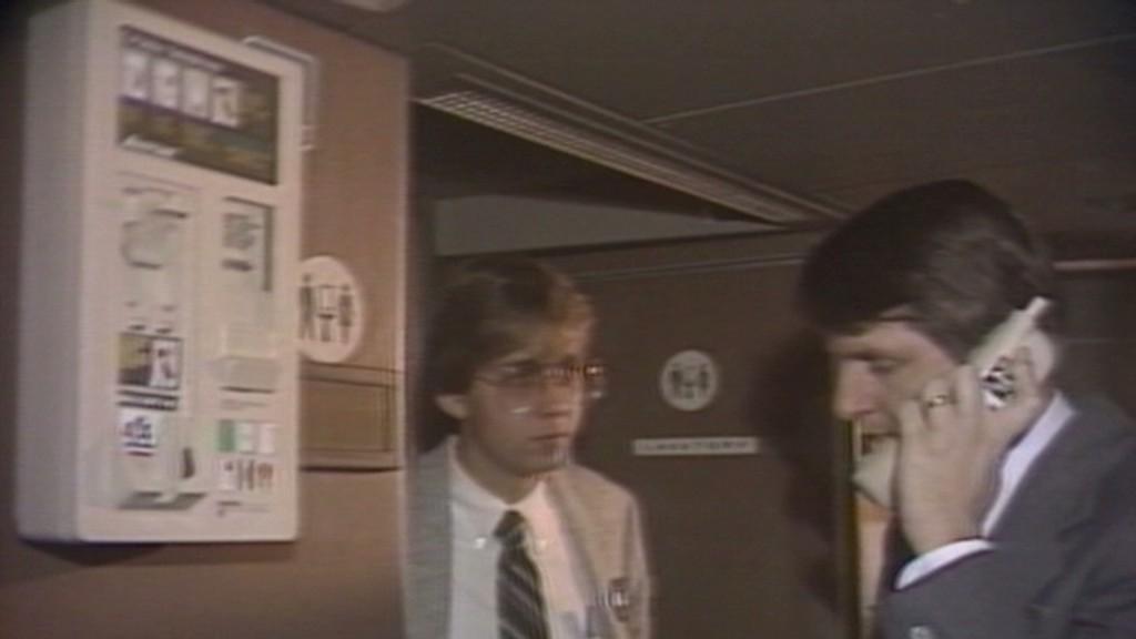 CNN flashback: In-flight calls in 1984