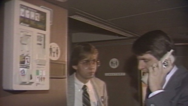 CNN flashback: In-flight calls in 1984