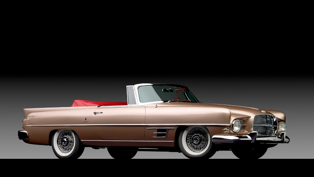 auctions 1957 dual ghia convertible