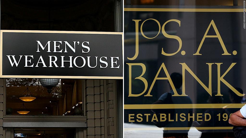 mens wearhouse jos a bank