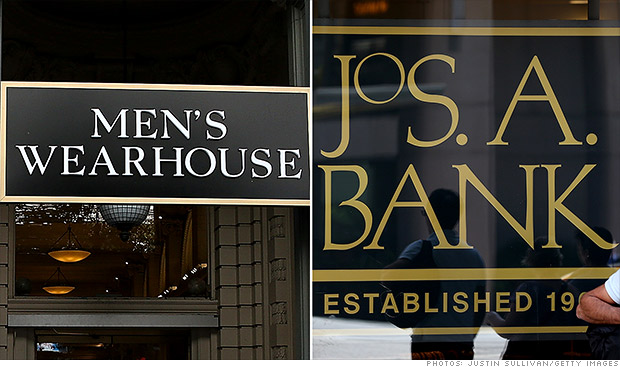 mens wearhouse jos a bank