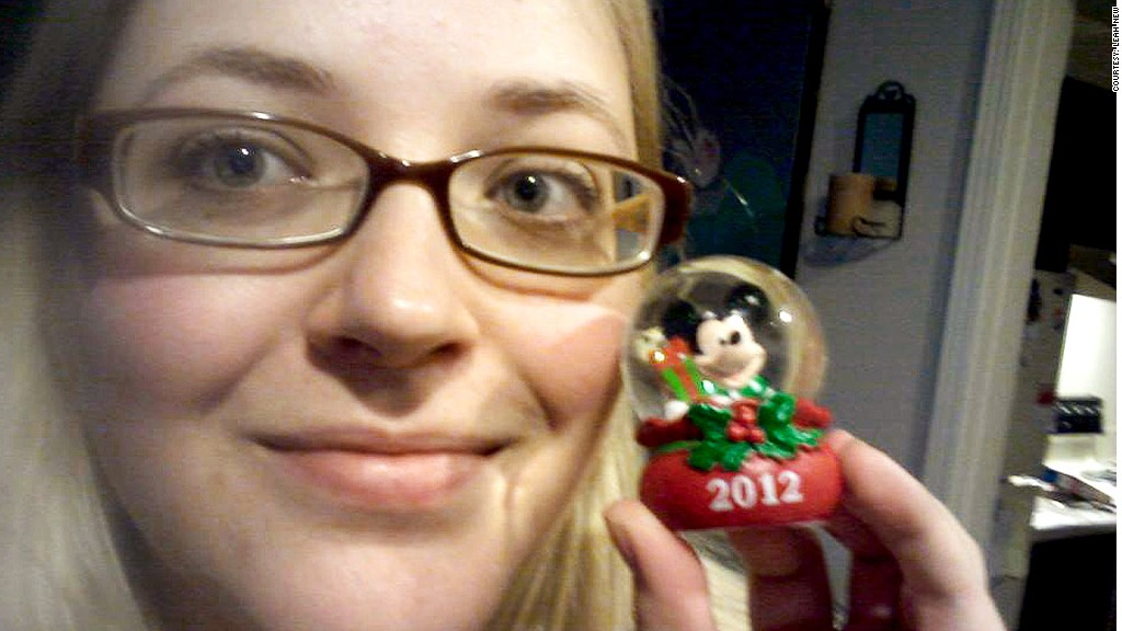 leah new jc penny snow globe