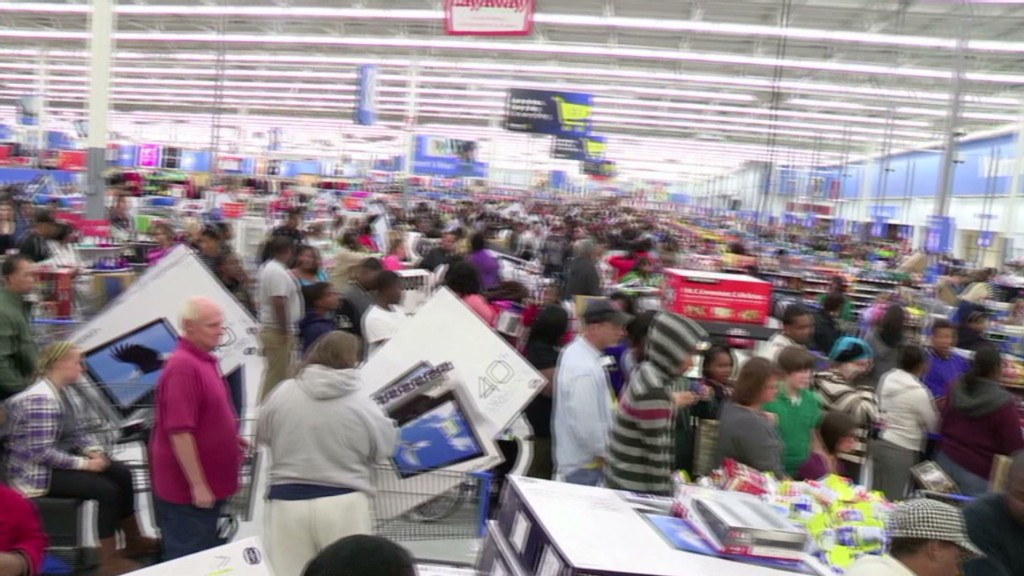 Wal-Mart preps for Black Friday