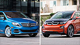 BMW, Mercedes take different roads on electric cars