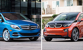 Electric cars: BMW vs. Mercedes