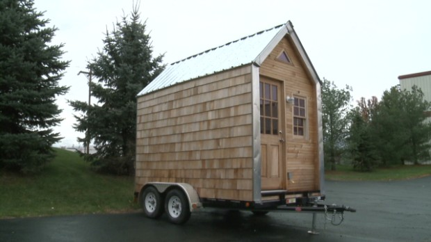 Tiny House Financing tiny house financing 2 tiny houses tiny homes tiny house plans small house plans micro home Grow A Tiny House Out Of Mushrooms Video Personal Finance