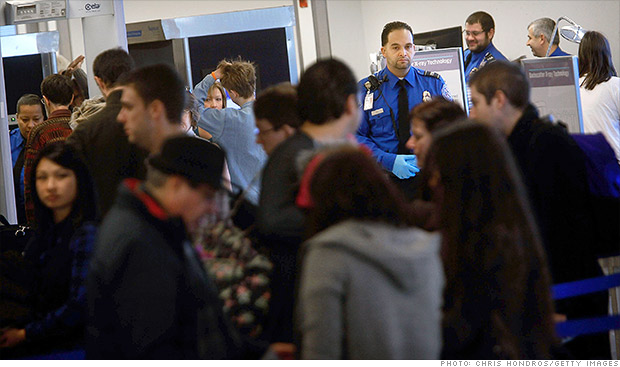 airport security fees