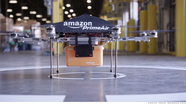 Amazon says drone deliveries are the future