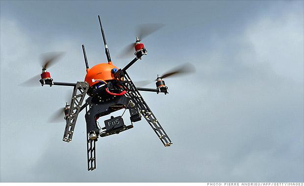 drone concepts wildfire drone