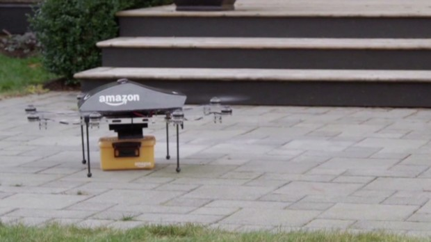 Making Amazon drone delivery a reality