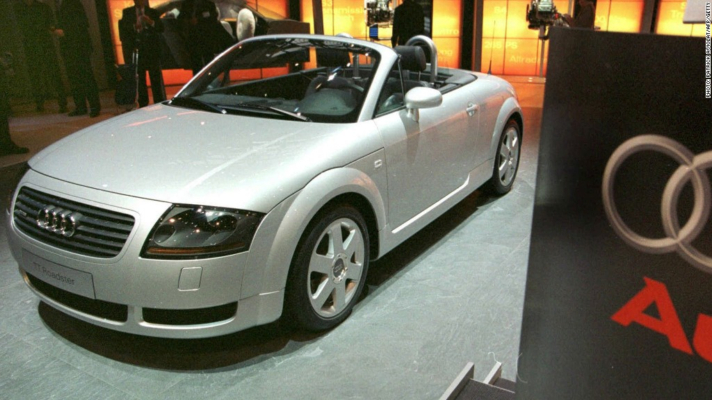 1998 audi tt the retro chic of car designer j mays cnnmoney. Black Bedroom Furniture Sets. Home Design Ideas