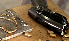This startup turns illegal guns into jewelry