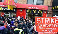 Fresh fast food strikes planned for Thursday