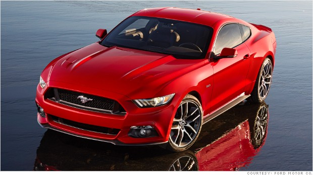 Ford unveils all-new Mustang