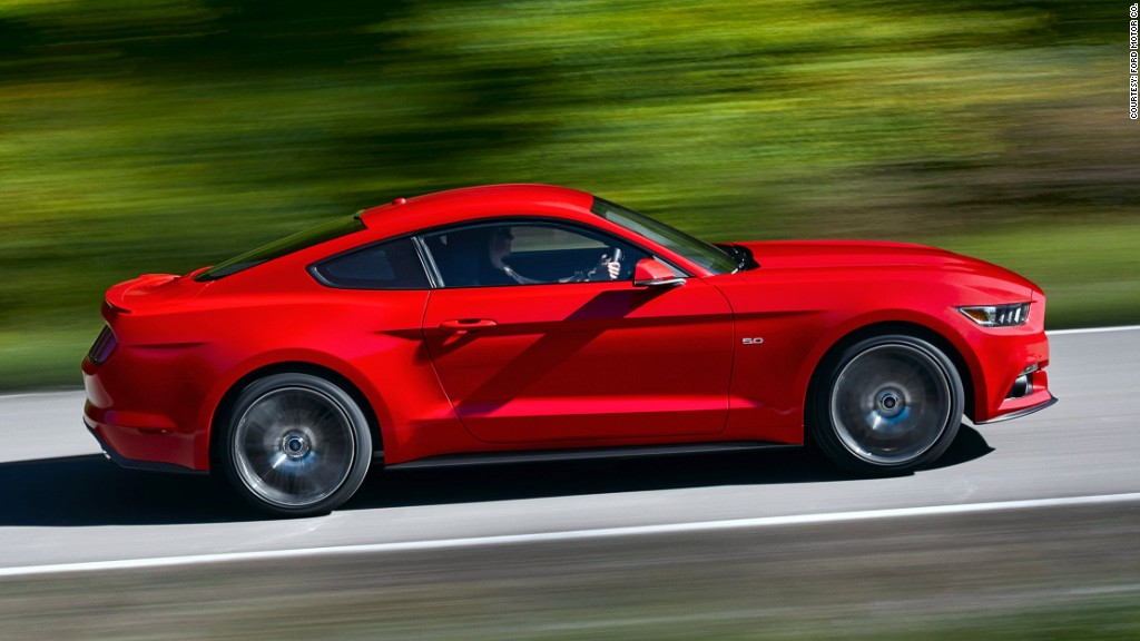 2015 ford mustang drive