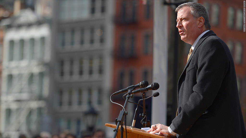 bill de blasio sick leave