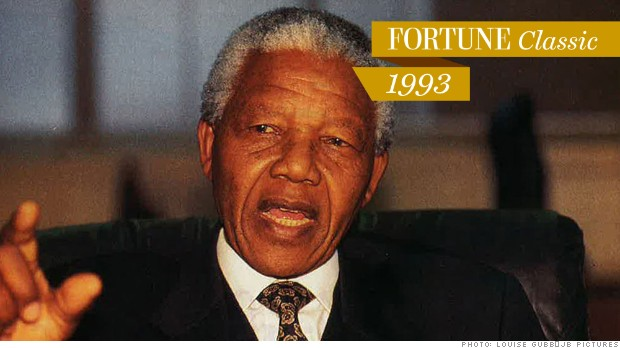 Mandela reaches out to business