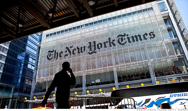 Snowden docs had NYTimes exec fearing for his life