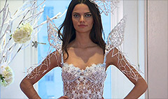 Victoria's Secret model prints wings