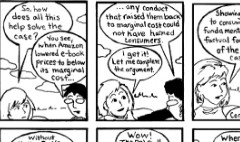 Apple e-book amicus brief as graphic novel