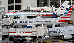 American Air back on Wall Street