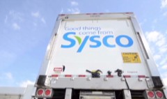 Investors eat up Sysco. Not Cisco.
