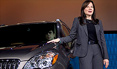 GM names 1st woman automaker CEO