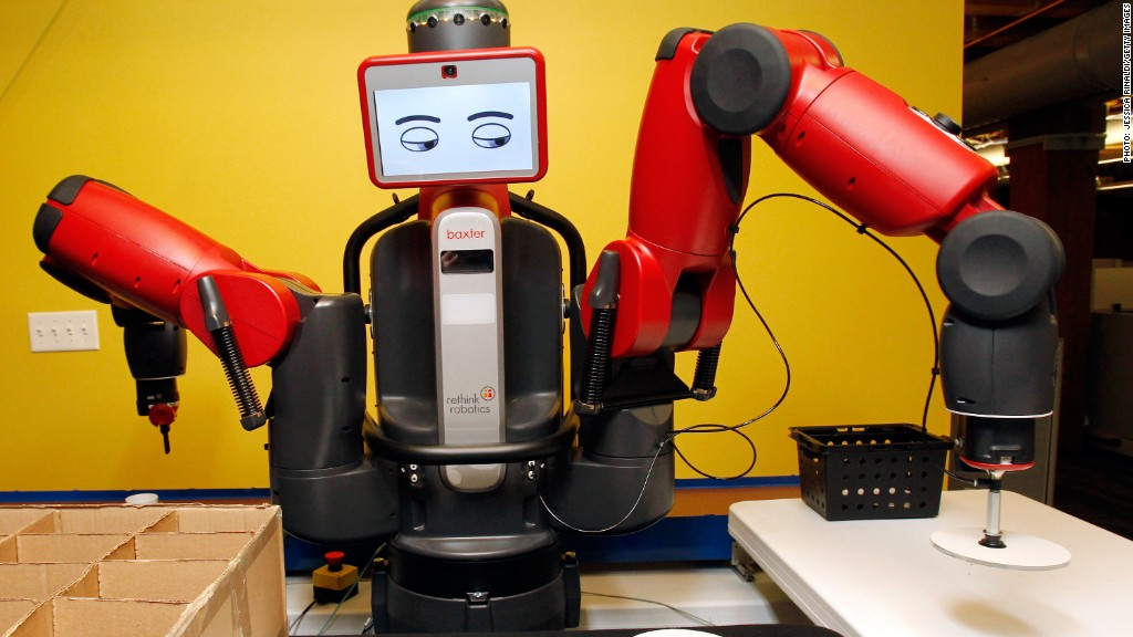 baxter rethink robotics