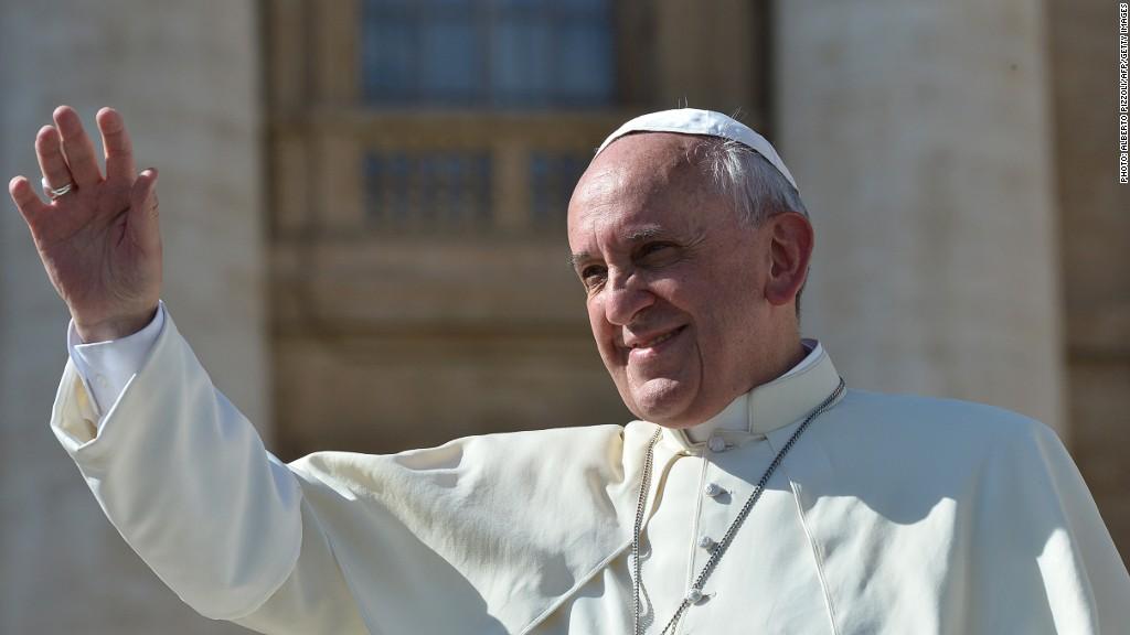pope happy