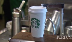 1/3 of Starbucks purchases are prepaid