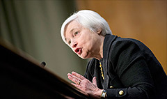 Senate confirms Yellen as Fed Chair