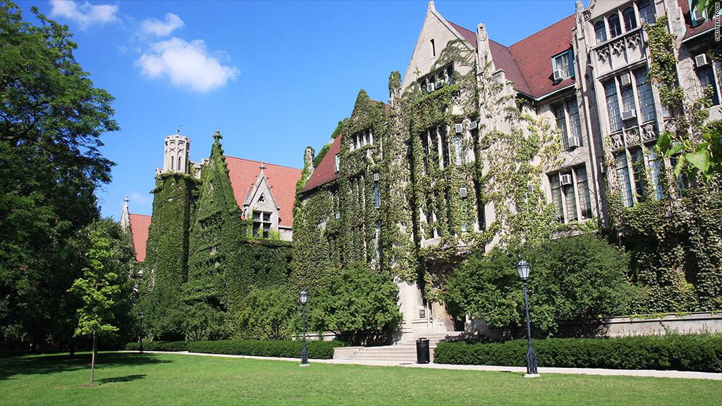 universtiy chicago campus