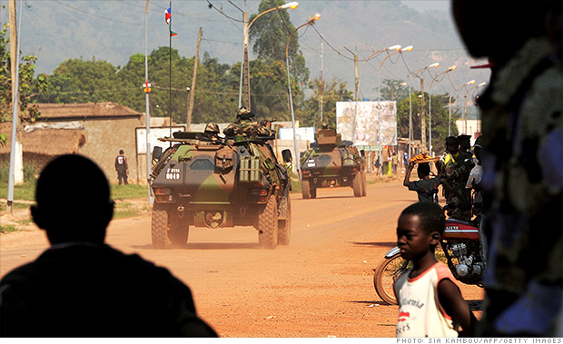 worst economy central african republic