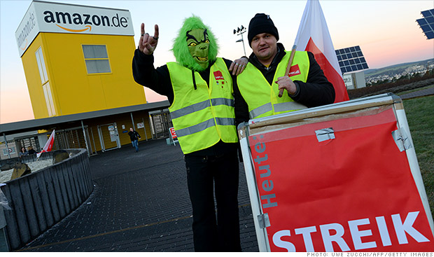amazon germany strike