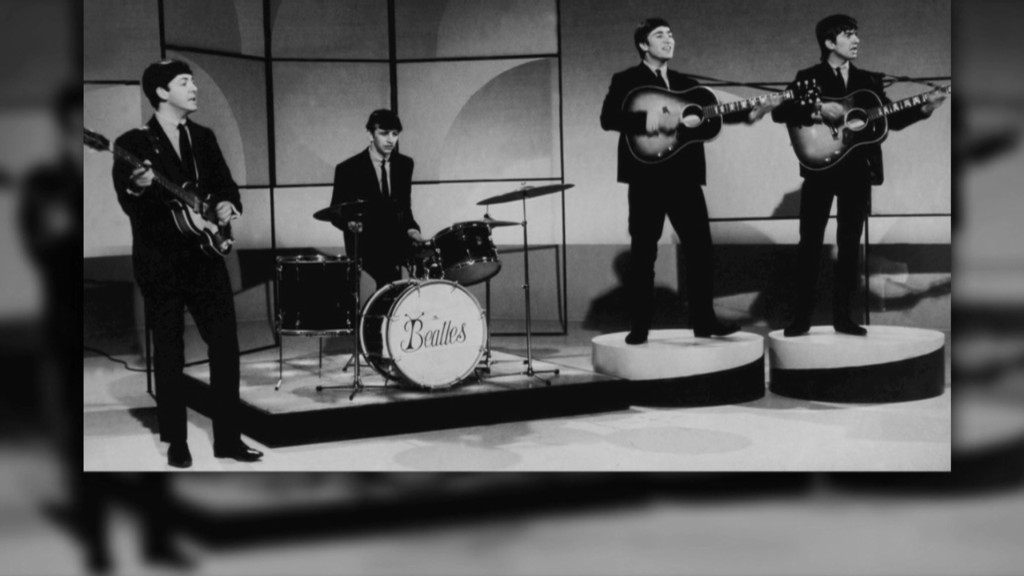 Why the Beatles released new music in 2013