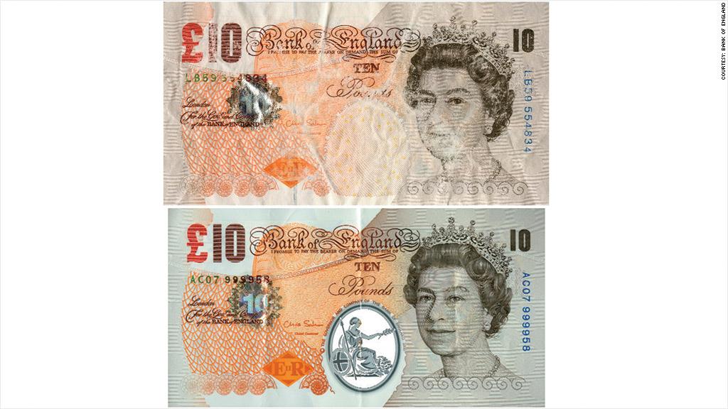 uk polymer bank note