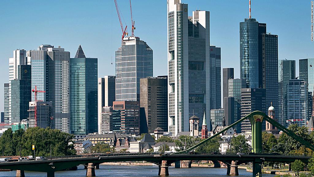 frankfurt european banks