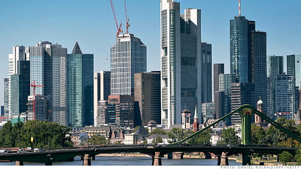 frankfurt european banks