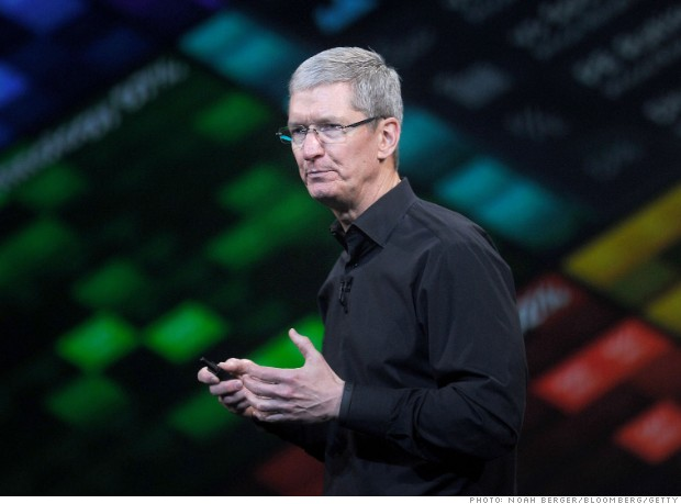 2013 ceo stands tim cook