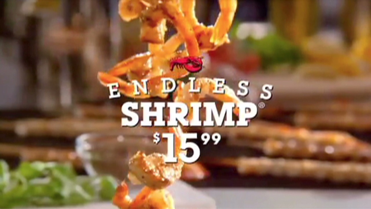 131219105539 investing the buzz darden restaurants red lobster olive garden 00000414 1280x720 endless shrimp (and problems) for red lobster video investing,Endless Shrimp Meme